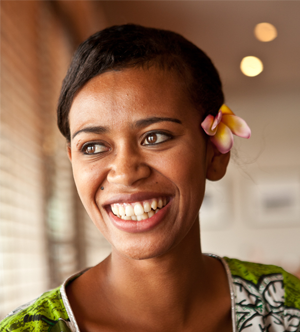 "Fiji is known as the ""Isle of Smiles"""